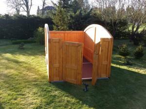 Aufbau - Rohbau - Holz-Garage.net