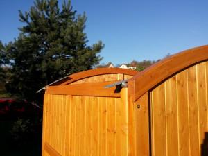 Aufbau - Dach - Holz-Garage.net