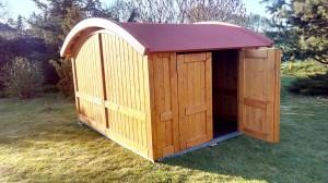 Aufbau - Fertig - Holz-Garage.net