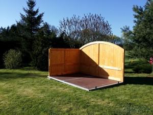 Aufbau - Seitenteile - Holz-Garage.net